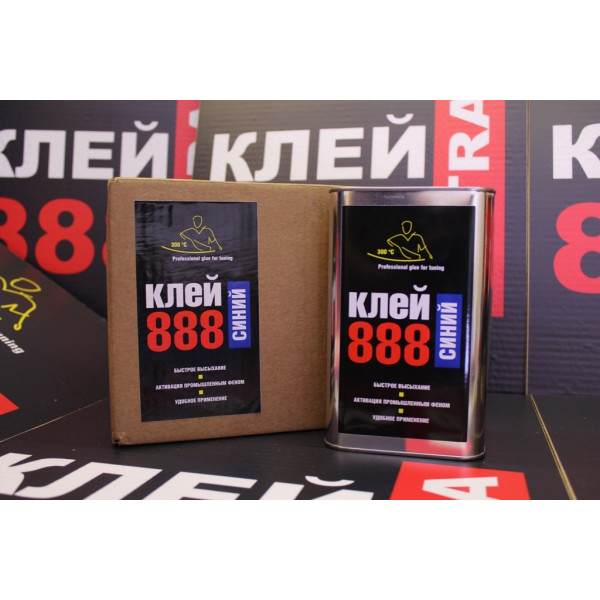 Клей 888 ULTRA синий 1 литр