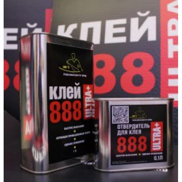 Клей 888 ULTRA+  1 литр с отвердителем