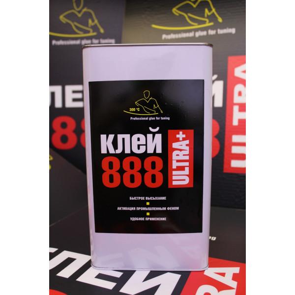 Клей 888 ULTRA+ 5 литров (с отвердителем)